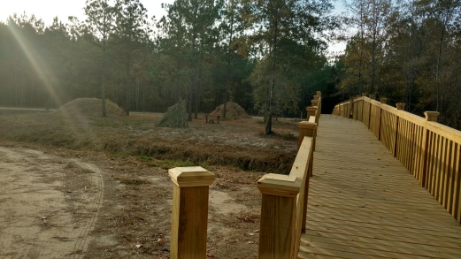 Boardwalk with Native American Habitat
