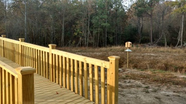 Boardwalk and Duck Habitat